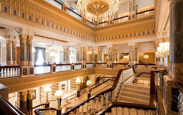 Ciragan Palace Kempinski Istanbul...I stayed there and it was magnificent!