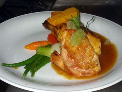 Saffron chicken marinade recipe