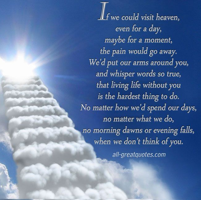 Will We See Our Loved Ones Heaven