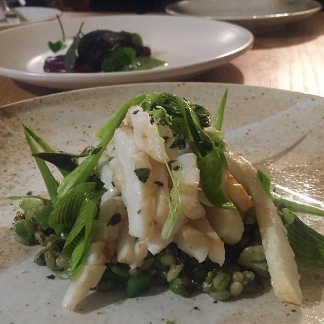 Calamari at @the_stag_port_fairy  #thestag #thestagportfairy #portfairy #dinner #dining #entree #fresh #calamari #seafood #food #chef #nomnomnom #foodporn #yummy :Image my own by throughstylisheyes
