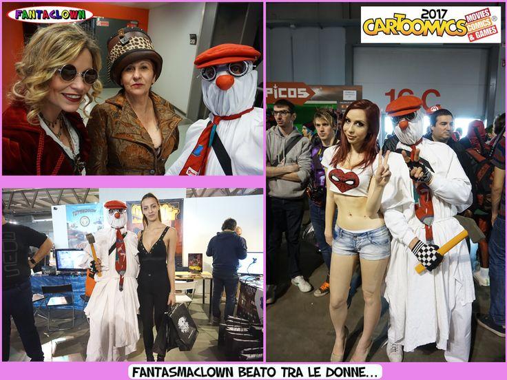 FantasmaClown Cartoomics17 Donne...