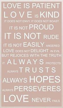 : Idea, Corinthians 13 4 8, Favorite Bible Verses, 1 Corinthians 13, Wedding, Love Is Patient, Love Never Fails, Favorite Quotes, Easili Anger