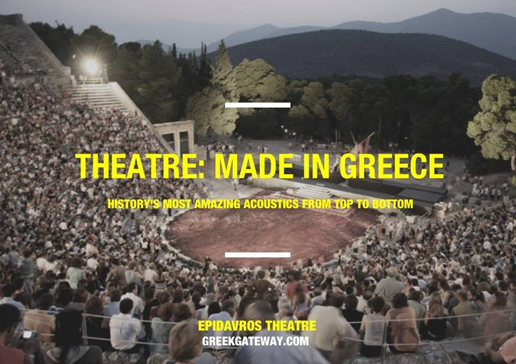 an overview of theater in ancient greece The theatre of ancient greece consisted of three types of drama: tragedy, comedy, and the satyr play [10] the origins of theatre in ancient greece, according to aristotle (384–322 bce), the first theoretician of theatre, are to be found in the festivals that honoured dionysus.