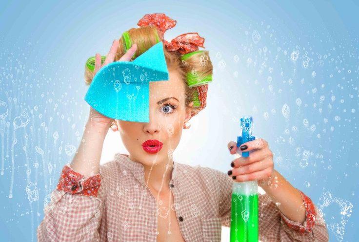 Способы, как убрать дом быстро и без химии