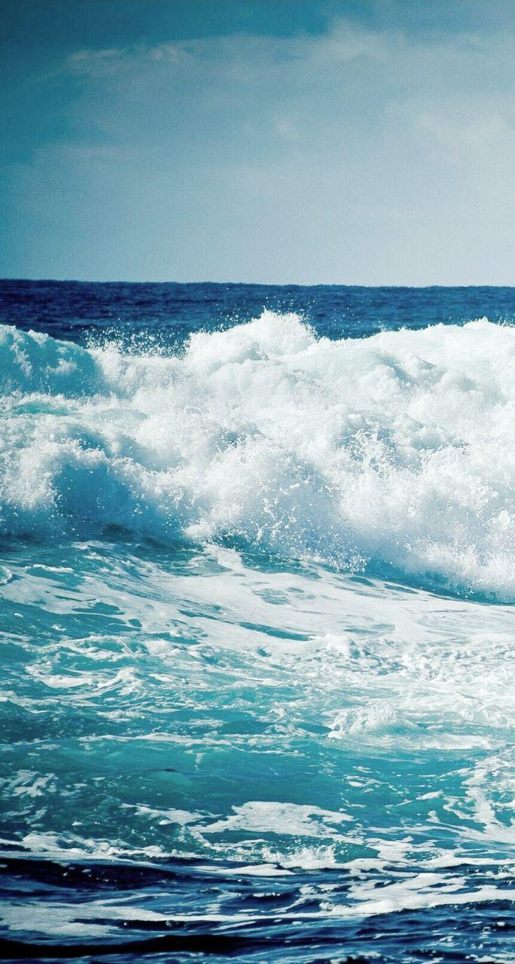 Ocean waves iphone wallpaper
