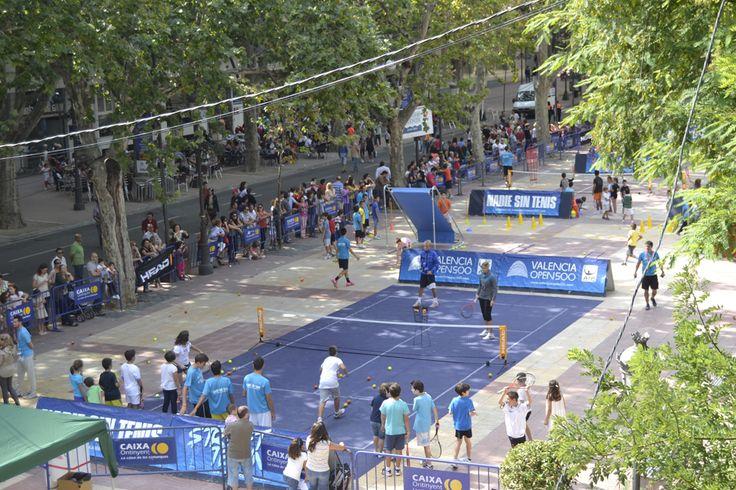 Pistas de tenis en Xàtiva para celebrara el 9 d'octubre