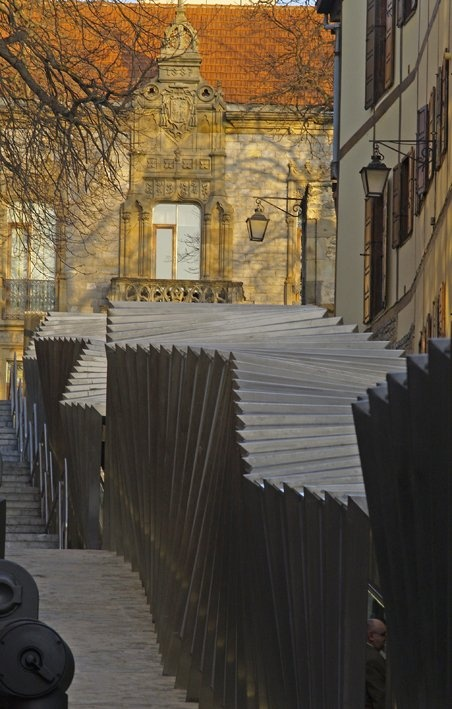 Electric Ramps at the Old Centre in Vitoria-Gasteiz, Spain