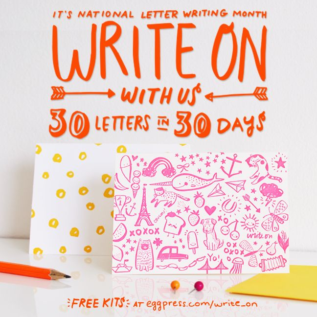 national letter writing month best 180 30 days challenges amp things to do images on 23752