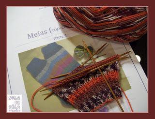 Bola de Pêlo Criações: Workshop Meias - 1ª sessão - 3 Dezembro 2016