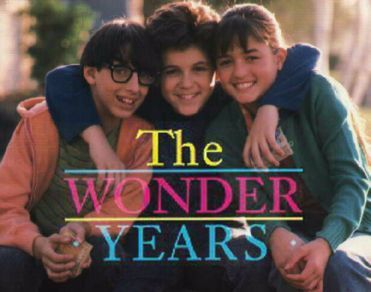 The Wonder Years ... Def need to watch this again because I'm certain it would be a lot different now versus at age 6 (or so). Still remember thinking he needed to just tell Winnie how he felt!