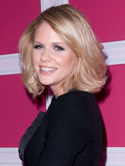 Carrie Keagans cute and curly bob