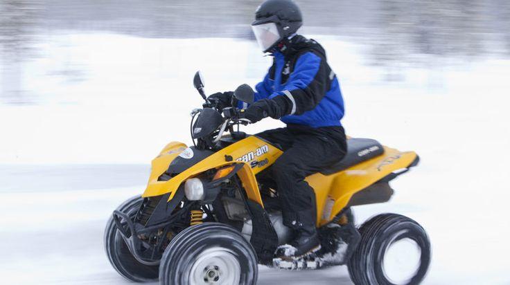 Snow Rally Rings - Rovaniemi, Lapland, Finland