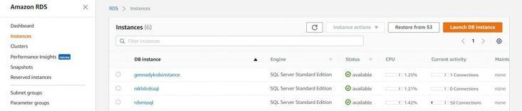 Migrating SQL Server databases from AWS RDS to Azure SQL Database using the Azure Database Migration Service