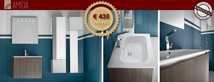 Lo sapevate che da Amida lo stile ed il design sono alla portata di tutti? Personalizzate il vostro bagno ad un prezzo davvero eccezionale! Vieni in sede e scopri di più!