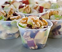 This Fruity California Walnut Salad Recipe is Perfect for Breakfast, Lunch, Snack Time, and even Dessert!