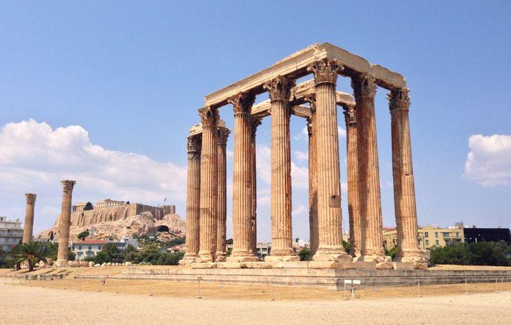 Ναός Ολυμπίου Διός (Temple Of Olympian Zeus) in Αθήνα, Αττική | Temple of Olympian Zeus - Greece