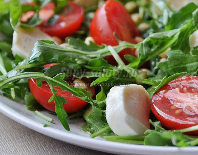 летние легкие салаты