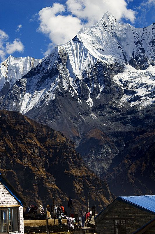 Nepal, Annapurna base camp. Never going to climb Everest, but I hear hiking to base camp is an adventure in itself.