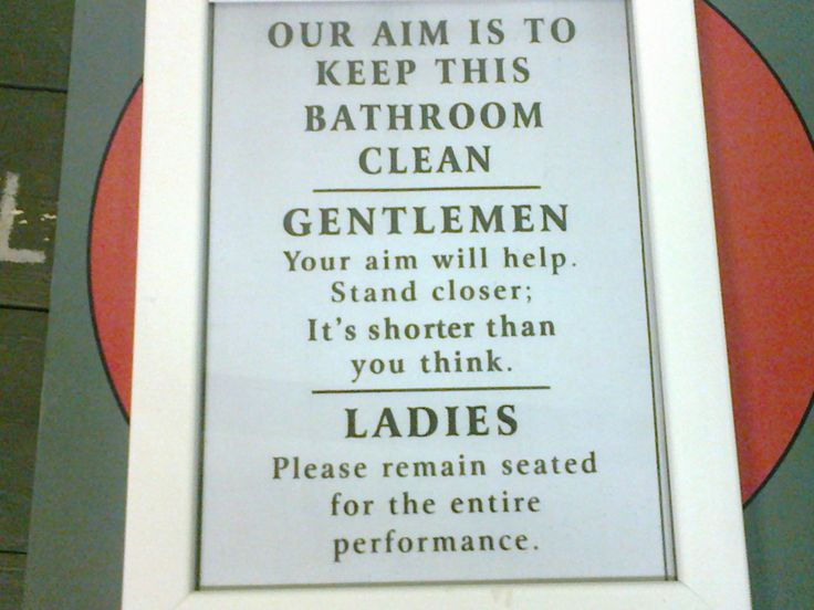 1000 images about humor bathroom wc on pinterest How to keep the bathroom clean
