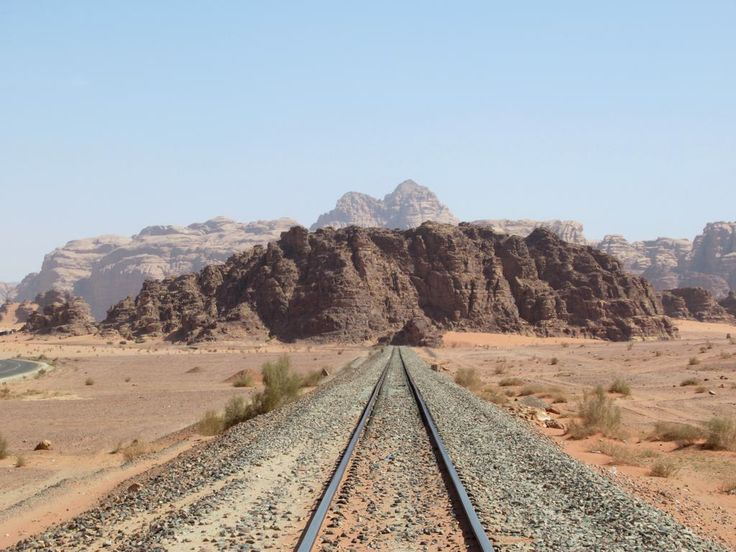 The film Lawrence of Arabia was partially shot at this location at Wadi Rum on the Hejaz Jordan Railway.