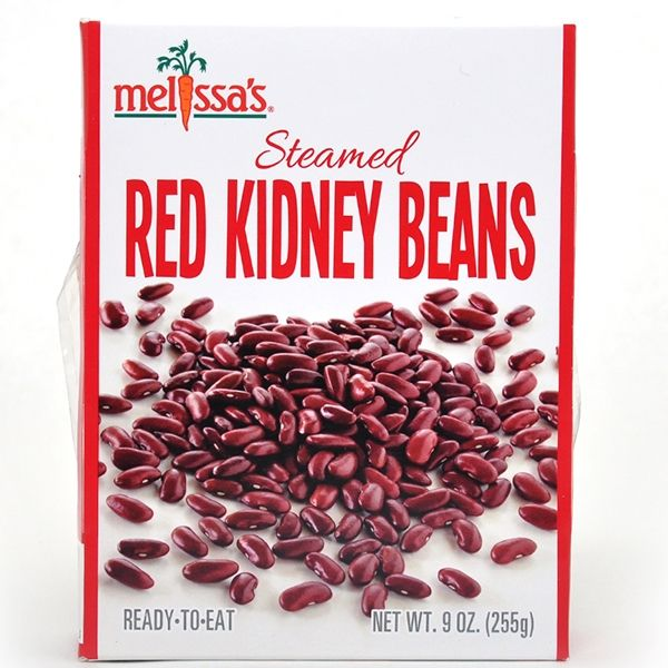 Steamed Red Kidney Beans - Perfect for chili, soup, salads, and more. Great staple item!