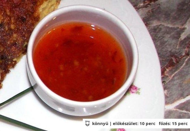 Thaiföldi chiliszósz