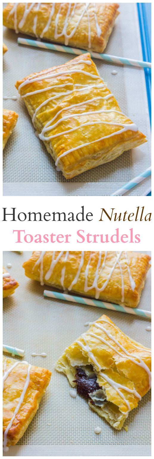 Nutella Toaster Strudels