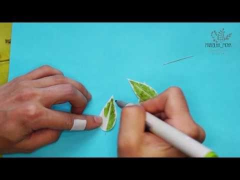 Привет. Почему бы нам не дополнить нашу осеннюю композицию декоративными травинками из фоамирана? Именно их мы сегодня и будем делать) Наша группа в вк: http...