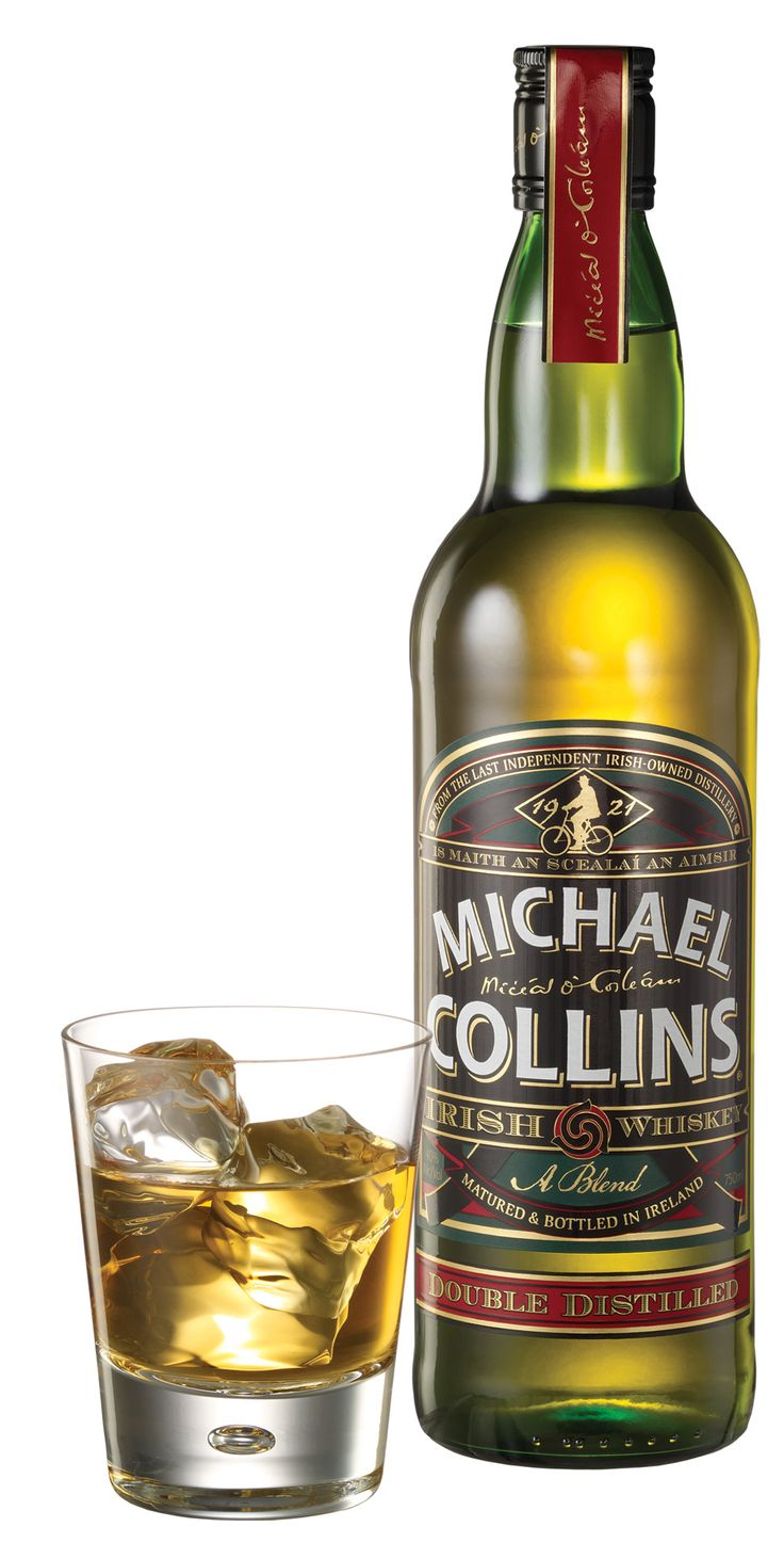 The Michael Collins 10-Year-Old Irish Whiskey ($32) is a scotch lovers Irish. It's double distilled and made in the style of a single malt scotch. The palate is clean a nice kiss of honey balanced by citrus and malt flavors. The 10 years in wood comes through with a spicy kiss of oak in the finish. A great little Irish for people who generally don't drink them.