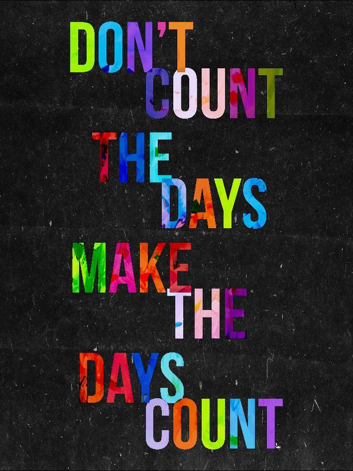 East End Prints - Don't Count the Days, £19.95 (http://www.eastendprints.co.uk/dont-count-the-days/)
