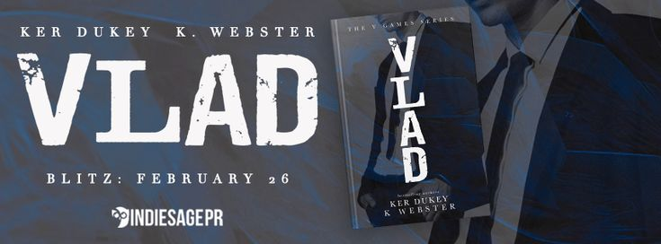 New Release By Author Ker Dukey & K. Webster  Vlad  by K. Webster & Ker Dukey  Publication Date: February 26 2018  Genres: Adult Contemporary Dark Mafia Romance  Read for FREE in KindleUnlimited: Amazon US | Amazon UK | Amazon CA | Amazon AU  The Vasiliev name is a powerful one.  We rule with an iron fist and we do it well.  Being the eldest I am Fathers best hope at keeping us at the top of the food chain.  Everything I do has purpose.  Everything I do has reason.  Until her.  I play my…