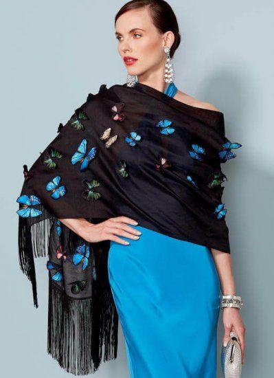 Vogue 9249 omslag sjaal