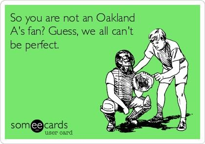 Oakland A's add raiders fan 4 complete perfection!!