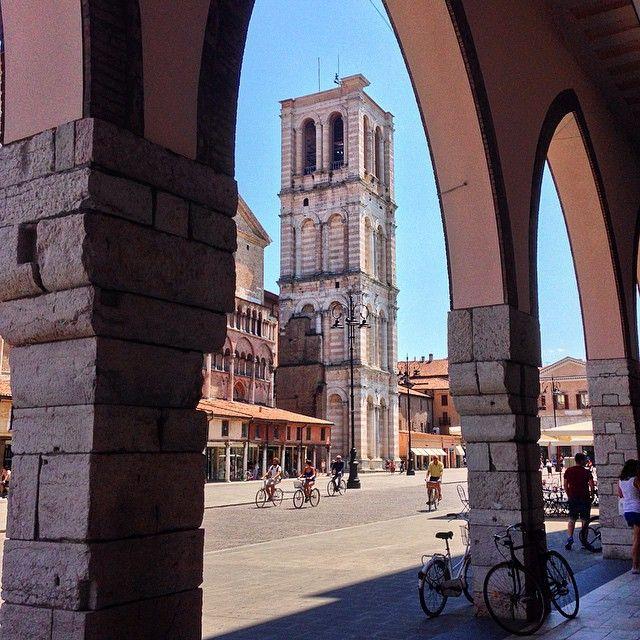 Piazza Trento Trieste, Ferrara - Instagram by my_italy