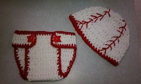 Ravelry: Newborn Baseball Hat pattern by Corina Gray