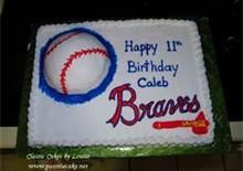 atlanta braves baseball themed cakes and cupcakes - Bing Images