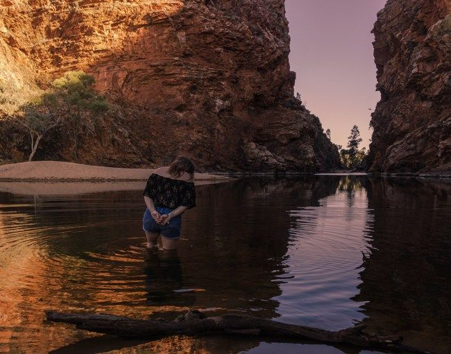 Life in the Big Hole: bliss filled days at Ellery Creek, Outback Australia
