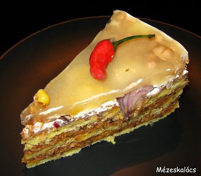 Mézeskalács konyha: Chilis bab torta