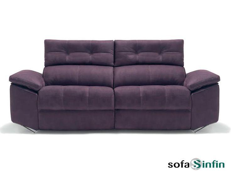 Sofá de estilo moderno modelo Lotus de Divani Star Más info en http://sofassinfin.es/sofas-modernos.html