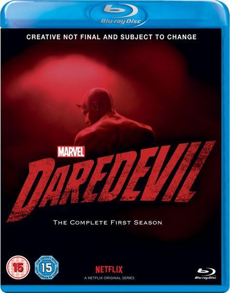 There has been no specific announcement yet, but Zavvi.com has listed on their site the Blu-ray, DVD and Steelbook editions of Marvel Daredevil Season 1. T
