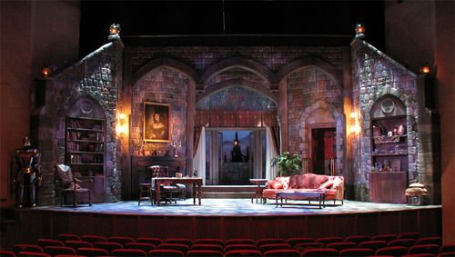 Count Dracula Set Design by Julie Ray STAGE & LIGHTING