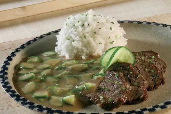 Znojmo style beef from Moravia - fine meaty flavours (c)Prague Tourism