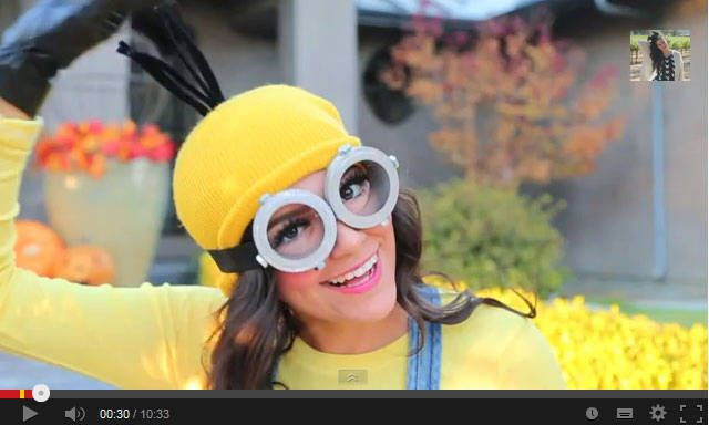 Halloween 2013: Come realizzare un Costume da Minion di Cattivissimo Me – VIDEO http://www.comefaremania.it/halloween-2013-realizzare-costume-minion-cattivissimo-me-video/ #halloween #minion #comefare