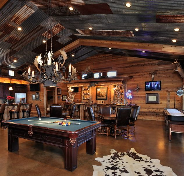 Rocky Mountain Lodge Man Cave