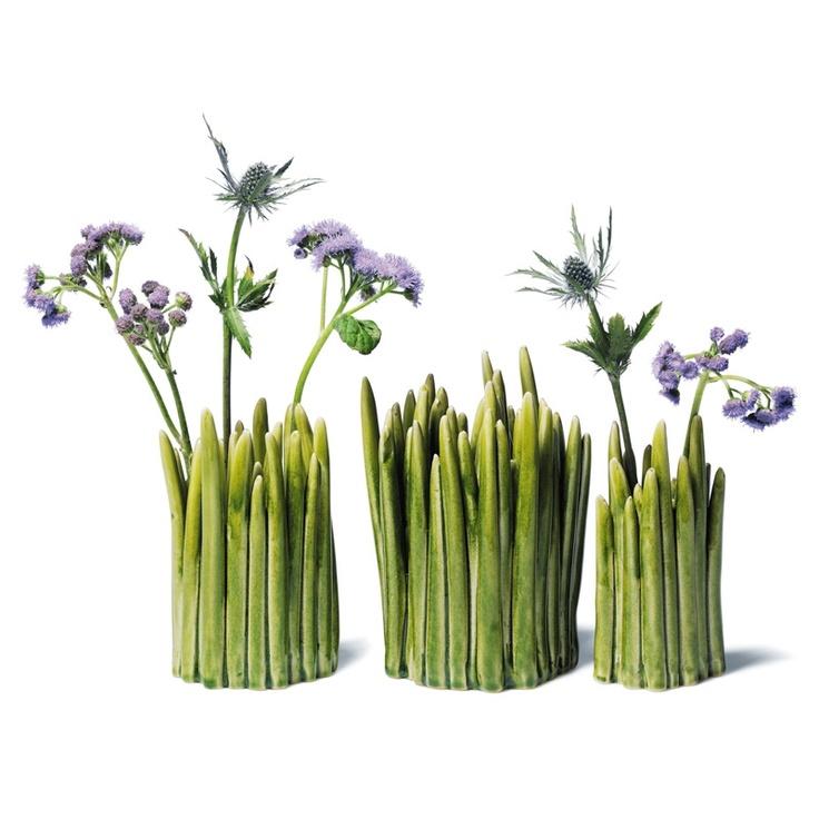 Grass Vase, Normann Copenhagen. Design by Claydies.
