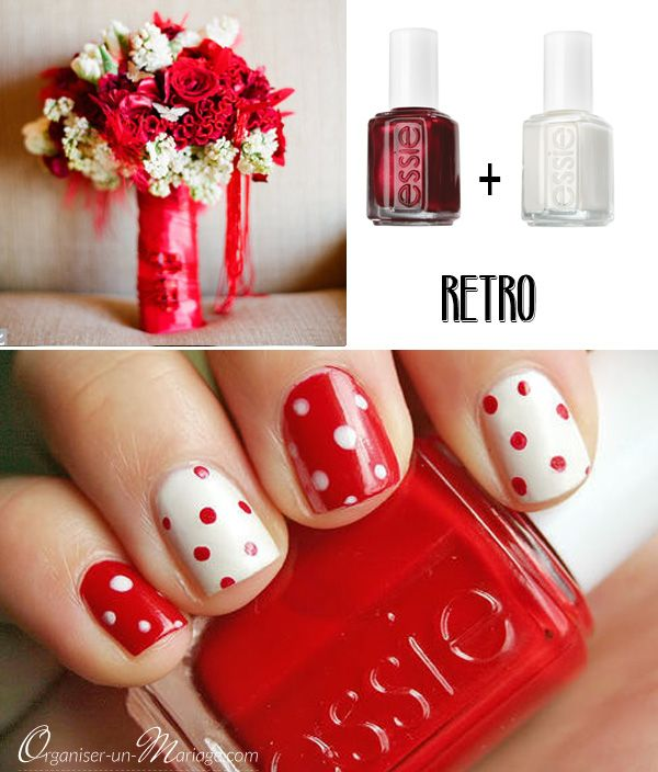 manucure-pois-rouge-retro-mariage.jpg (600×704)