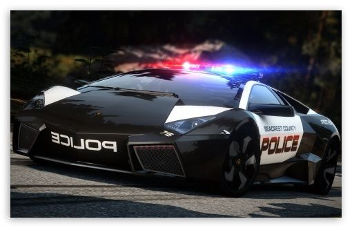 Lamborghini Police Car ( wouldn't want to be chased by this police)