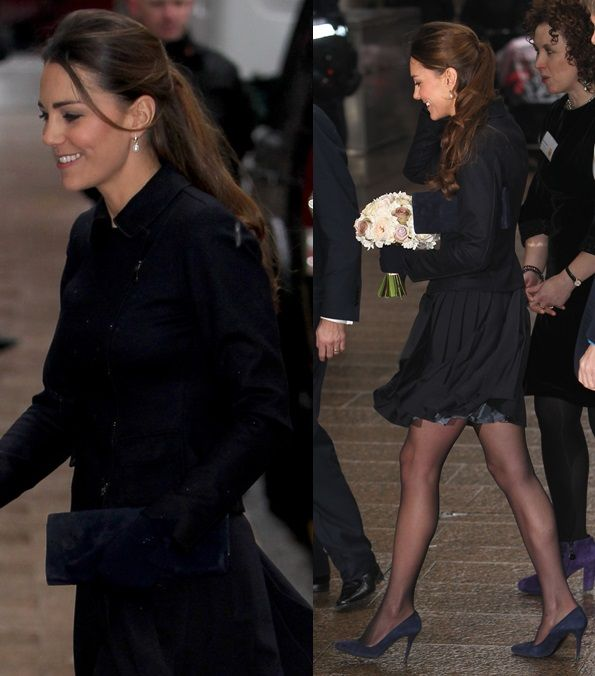 Can You ID Kate Middleton's Blue Suede Mystery Pumps?