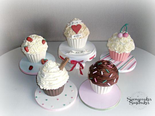 Giant Cupcake Wedding