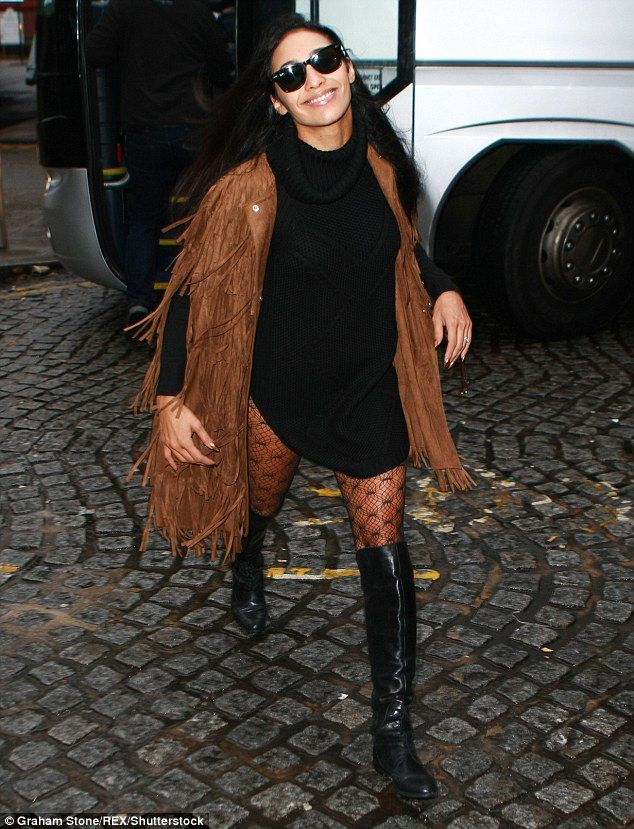 So professional! Strictly dancer, Karen Clifton made sure she stood out from the crowd when she ventured out in Birmingham ahead of the final live show there
